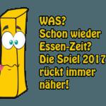 Messe Spiel 2017: Der Spieleblick 2017