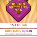 Ankündigung: Berlin Brettspiel Con 2017