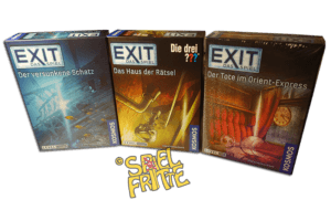 EXIT – Haus der Rätsel & Der Versunkene Schatz & Der Tote im Orient-Express