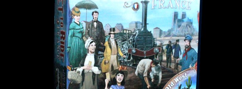 Zug um Zug – Frankreich / Der Wilde Westen
