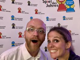 Die Verleihung des Spiel des Jahres 2019