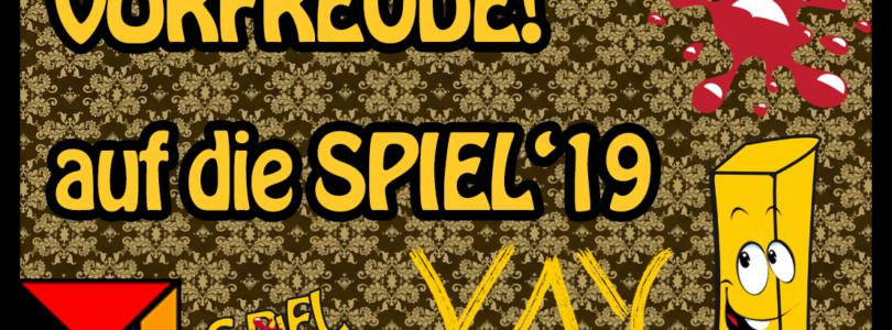 SPIEL'19 – Jetzt wird´s ernst. Und Vorfreude.