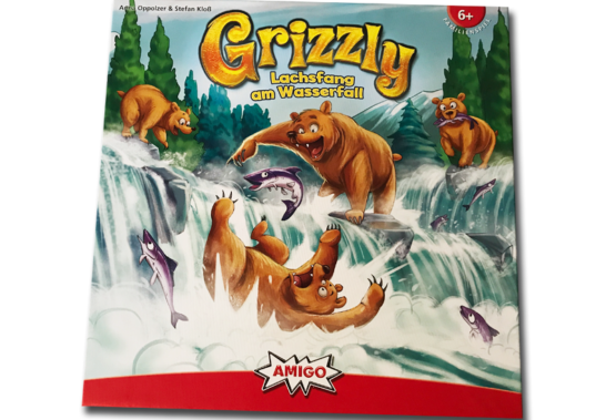 Grizzly – Lachsfang am Wasserfall