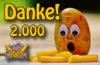 Das 2000 Abo Instagram Gewinnspiel