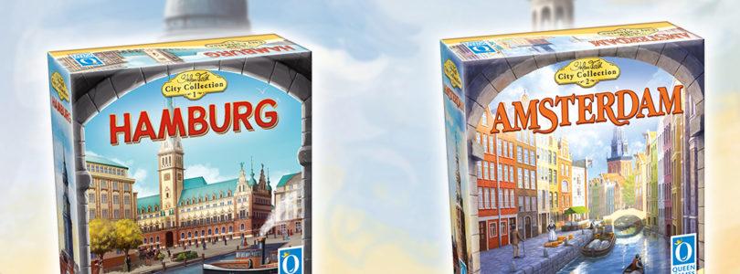 """Heiß & Fettig: Queen Games und Stefan Feld präsentieren die """"Stefan Feld City Collection"""""""