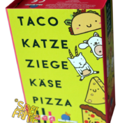 Taco Katze Ziege Käse Pizza