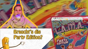 Die Mayotube der Spielfritte – Kaddy geht auf eine LAMA Party