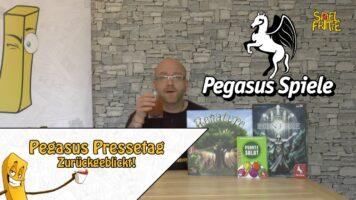 Pegasus Pressetag digital – Die Spielfritte fasst zusammen