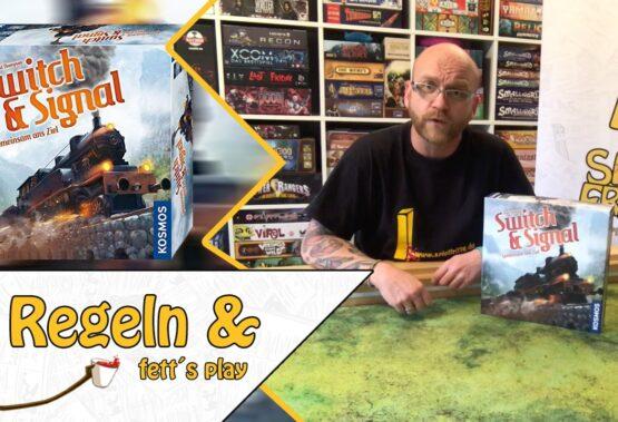 Erklärt und fett gespielt: Switch & Signal vom Kosmos Verlag in der MayoTube