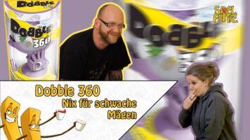 """Dobble 360 –  Das analoge """"VR-Erlebnis"""" für daheim – Motion-Sickness! Wir spielen´s trotzdem! OUTTAKES OHNE ENDE!"""