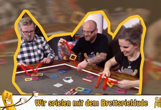 Frittenstream der SPIELdigital 2020: Der Brettspieldude spielt mit uns