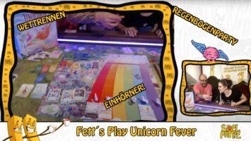 Frittenstream der SPIELdigital 2020: Wir spielen Unicorn Fever!